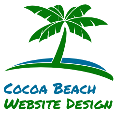 Cocoa Beach Website Design Logo