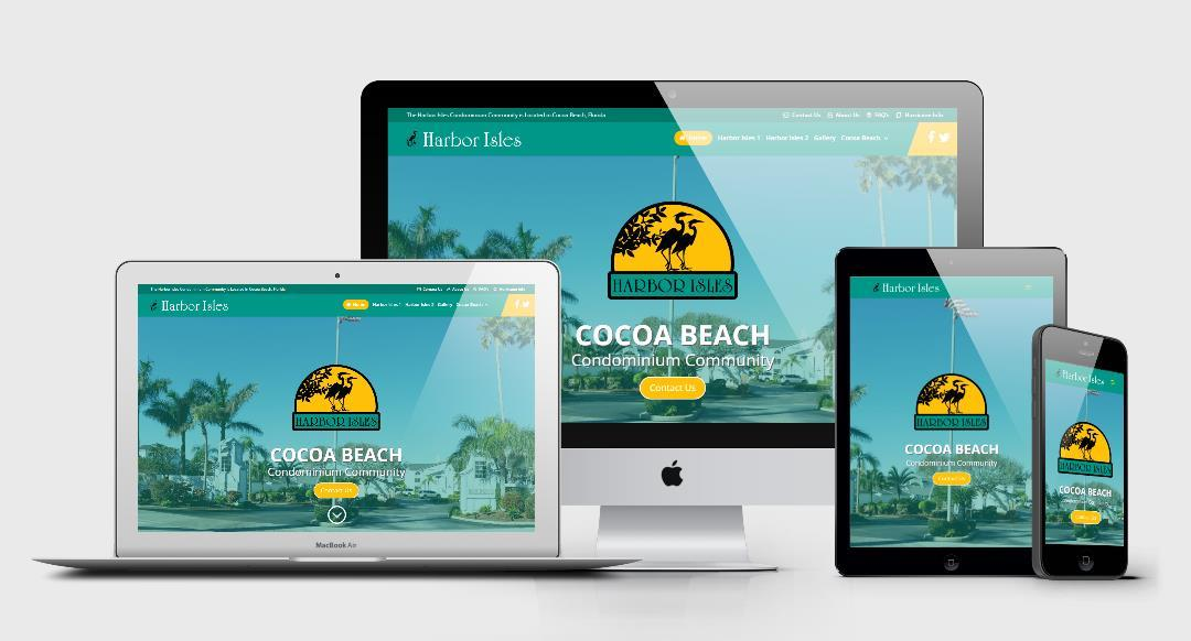 Harbor Isles Responsive Website Design