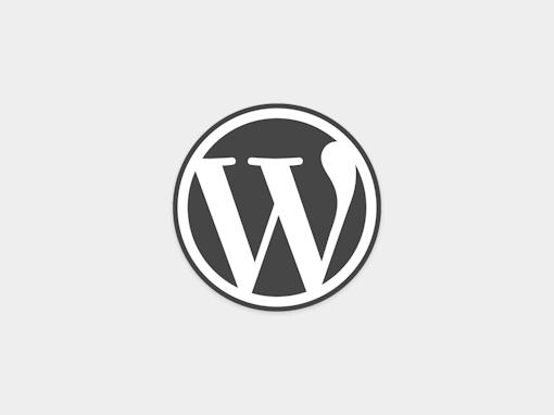 WordPress Logo Light