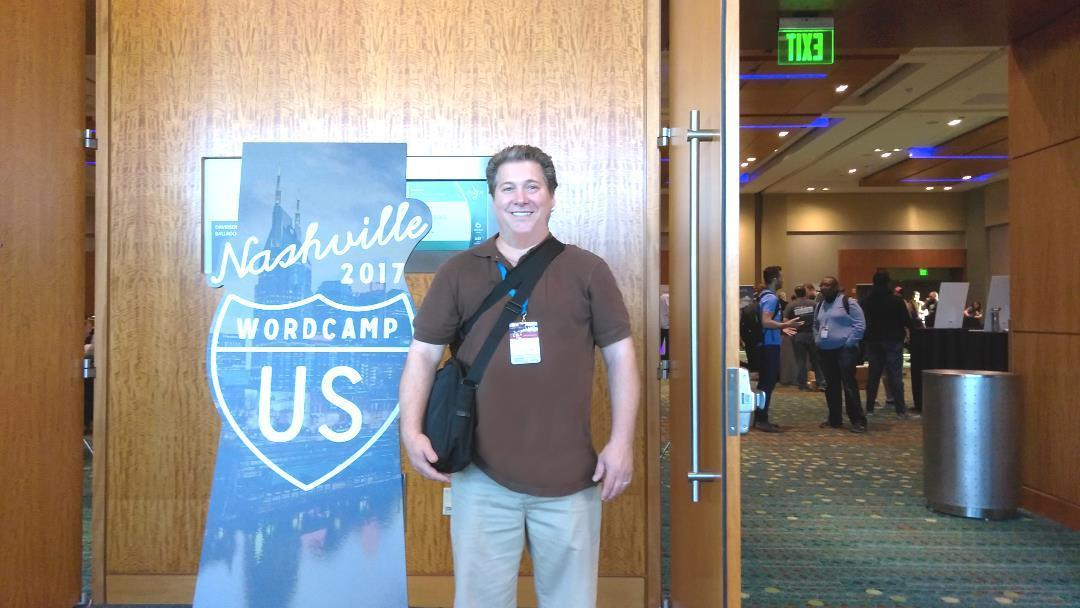 James Turner at WordCamp US 2017 in Nashville