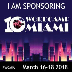 WordCamp Miami 2018 Sponsor