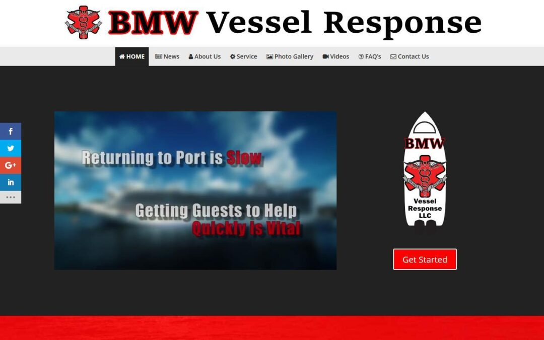 BMW Vessel Response WordPress Website Design Project