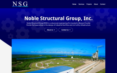 Noble Structural Group WordPress Website Redesign Project