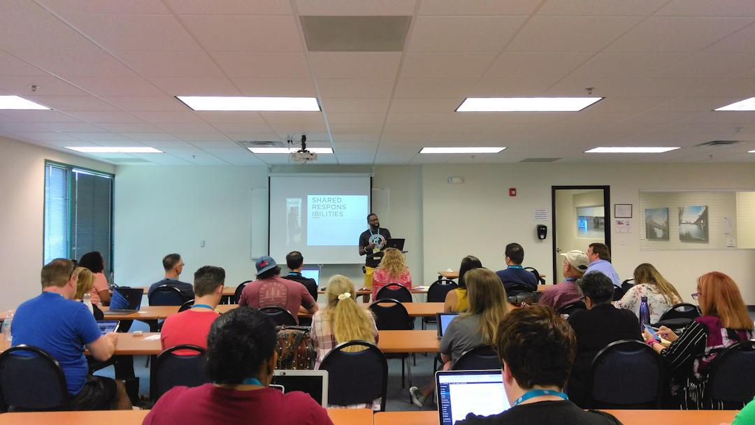Jean Perpilant WordCamp Jacksonville 2019
