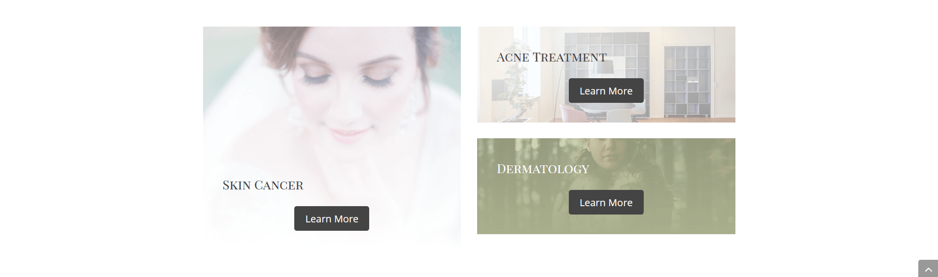 Ash Dermatology Merritt Island Wordpress Website Services Sections